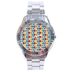 Star Ball Stainless Steel Analogue Watch by Jojostore