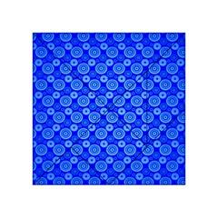 Neon Circles Vector Seamles Blue Acrylic Tangram Puzzle (4  X 4 ) by Jojostore
