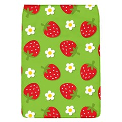 Strawberries Flower Floral Red Green Flap Covers (s)  by Jojostore