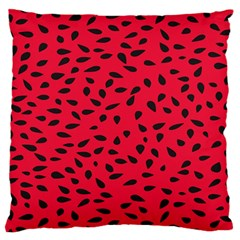 Watermelon Seeds Standard Flano Cushion Case (one Side)