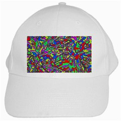 We Need More Colors 35c White Cap by MoreColorsinLife