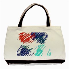 Scribbles                                                       basic Tote Bag by LalyLauraFLM
