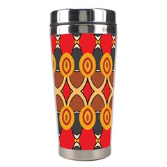 Ovals Pattern                                                         Stainless Steel Travel Tumbler by LalyLauraFLM