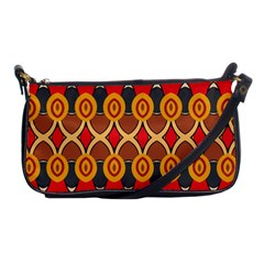 Ovals Pattern                                                         			shoulder Clutch Bag by LalyLauraFLM