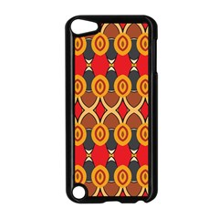 Ovals Pattern                                                        apple Ipod Touch 5 Case (black) by LalyLauraFLM
