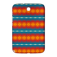 Shapes Rows                                                         			samsung Galaxy Note 8 0 N5100 Hardshell Case by LalyLauraFLM