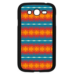 Shapes Rows                                                         			samsung Galaxy Grand Duos I9082 Case (black) by LalyLauraFLM