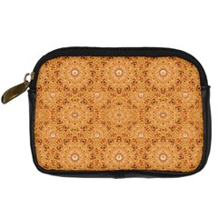 Intricate Modern Baroque Seamless Pattern Digital Camera Cases by dflcprints