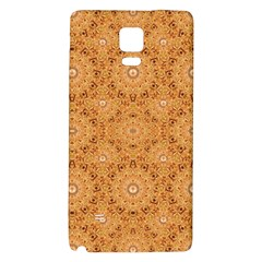 Intricate Modern Baroque Seamless Pattern Galaxy Note 4 Back Case by dflcprints