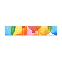 Rainbow Balloon Flano Scarf (mini) by Brittlevirginclothing