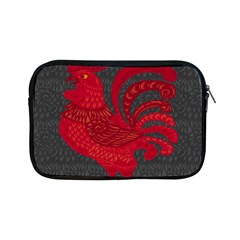 Red Fire Chicken Year Apple Ipad Mini Zipper Cases by Valentinaart