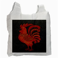 Chicken year Recycle Bag (One Side)