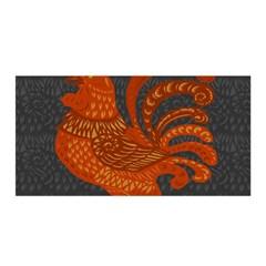 Chicken Year Satin Wrap by Valentinaart