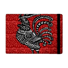 Year Of The Rooster Apple Ipad Mini Flip Case by Valentinaart