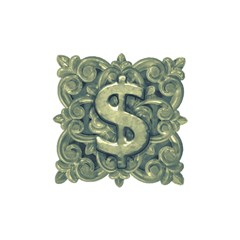 Money Symbol Ornament Shower Curtain 48  X 72  (small)  by dflcprints