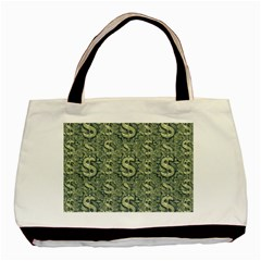 Money Symbol Ornament Basic Tote Bag