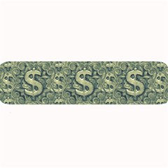 Money Symbol Ornament Large Bar Mats by dflcprintsclothing