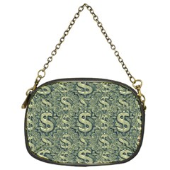 Money Symbol Ornament Chain Purses (one Side)