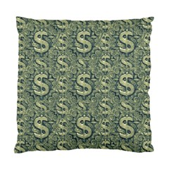Money Symbol Ornament Standard Cushion Case (one Side) by dflcprintsclothing