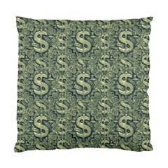 Money Symbol Ornament Standard Cushion Case (one Side)