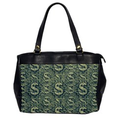 Money Symbol Ornament Office Handbags