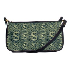 Money Symbol Ornament Shoulder Clutch Bags