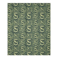 Money Symbol Ornament Shower Curtain 60  X 72  (medium)