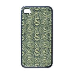 Money Symbol Ornament Apple Iphone 4 Case (black)