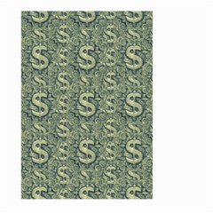 Money Symbol Ornament Large Garden Flag (two Sides) by dflcprintsclothing
