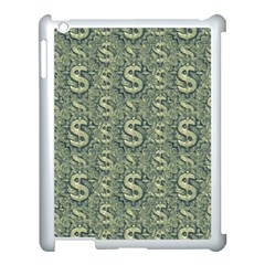 Money Symbol Ornament Apple Ipad 3/4 Case (white)