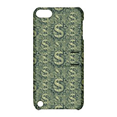 Money Symbol Ornament Apple Ipod Touch 5 Hardshell Case With Stand