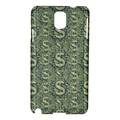 Money Symbol Ornament Samsung Galaxy Note 3 N9005 Hardshell Case