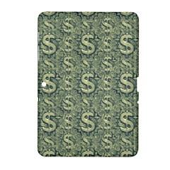 Money Symbol Ornament Samsung Galaxy Tab 2 (10 1 ) P5100 Hardshell Case