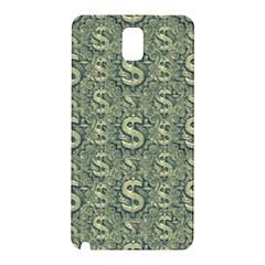 Money Symbol Ornament Samsung Galaxy Note 3 N9005 Hardshell Back Case