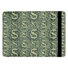 Money Symbol Ornament Samsung Galaxy Tab Pro 12 2  Flip Case