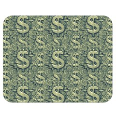 Money Symbol Ornament Double Sided Flano Blanket (medium)