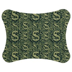 Money Symbol Ornament Jigsaw Puzzle Photo Stand (bow)