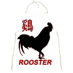 Year Of The Rooster   Chinese New Year Full Print Aprons by Valentinaart