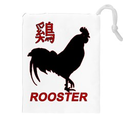 Year Of The Rooster   Chinese New Year Drawstring Pouches (xxl) by Valentinaart