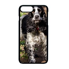 Black Roan English Cocker Spaniel Apple iPhone 7 Plus Seamless Case (Black)