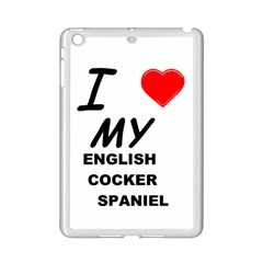 English Cocker Sp Love iPad Mini 2 Enamel Coated Cases by TailWags