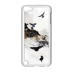 Birds Crows Black Ravens Wing Apple Ipod Touch 5 Case (white) by Amaryn4rt