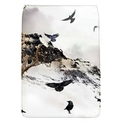 Birds Crows Black Ravens Wing Flap Covers (s)  by Amaryn4rt