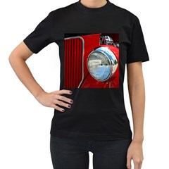 Antique Car Auto Roadster Old Women s T Shirt (black) by Amaryn4rt
