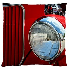 Antique Car Auto Roadster Old Large Cushion Case (two Sides) by Amaryn4rt