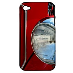 Antique Car Auto Roadster Old Apple Iphone 4/4s Hardshell Case (pc+silicone) by Amaryn4rt