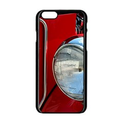 Antique Car Auto Roadster Old Apple Iphone 6/6s Black Enamel Case by Amaryn4rt