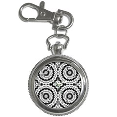 Pattern Tile Seamless Design Key Chain Watches by Amaryn4rt