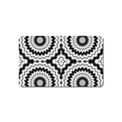 Pattern Tile Seamless Design Magnet (name Card) by Amaryn4rt