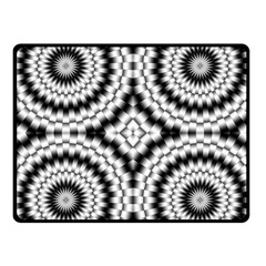 Pattern Tile Seamless Design Fleece Blanket (small)
